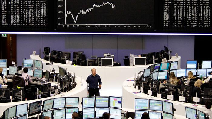 The curve of the DAX board is seen at the Frankfurt stock exchange REUTERS/Remote/Michael Leckel