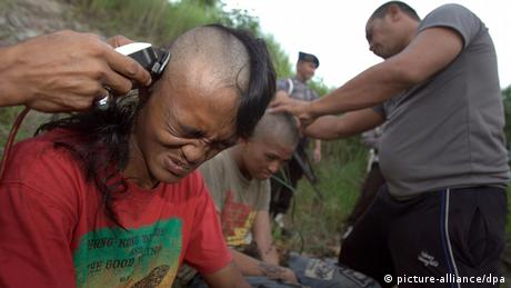 Indonesien Punks (picture-alliance/dpa)