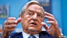 USA Wirtschaft US-Investor und Milliardär George Soros