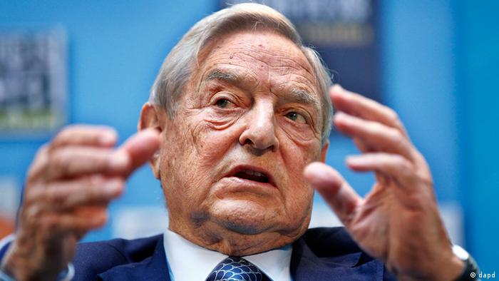 George Soros, chairman, Soros Fund Management, speaks during a forum Charting A New Growth Path for the Euro Zone at the IMF/World Bank annual meetings in Washington, Saturday, Sept. 24, 2011. (AP Photo Manuel Balce Ceneta)