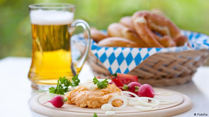 Bavarian Brotzeit meal