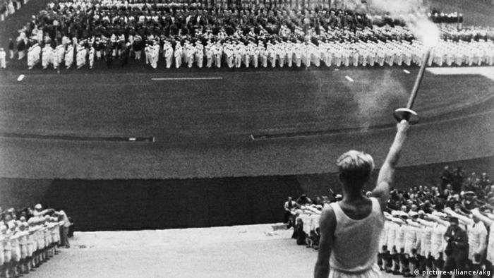 Открытие Олимпиады-1936 в Берлине