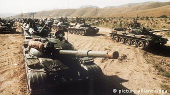 1980 год. Советские танковые части разворачиваются в Афганистане