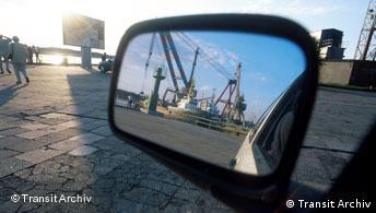 Der Hafen von Klaipeda Litauen