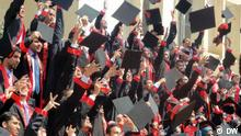 Symbolbilder über Universität - Abschlussfeier im Irak