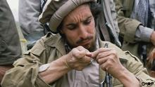 Legendary guerrilla Ahmad Shah Massoud repairs a captured Soviet assault rifle in 1986. Massoud is one of the most successful Afghan guerrilla leaders, leading forces in northeastern provinces adjoining the Soviet border. He and his forces have been credited with a string of victories against Soviet and Afghan troops. (ddp images/AP Photo/Masood Khalili)