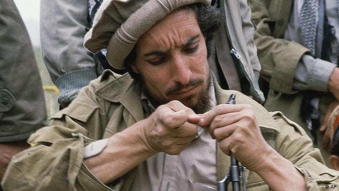Ahmad Schah Massoud Mujaheddin-Kämpfer Afghanistans ARCHIV 1986 (AP)