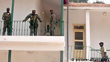 Os militares tomaram o controlo de Bissau no golpe de Estado