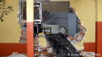 The House of Guinea-Bissau's Prime Minister Carlos Gomes Junior after it had been vandalized Photo:FERNANDO PEIXEIRO/dpa -