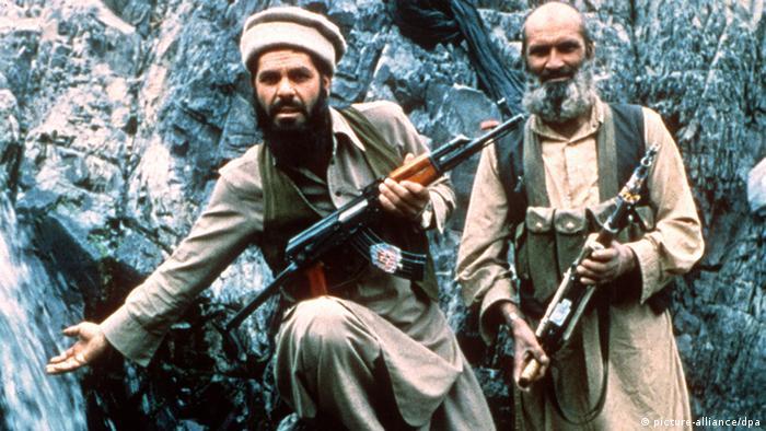 Mudschahedin in den Bergen von Afghanistan 1985 (picture-alliance/dpa)