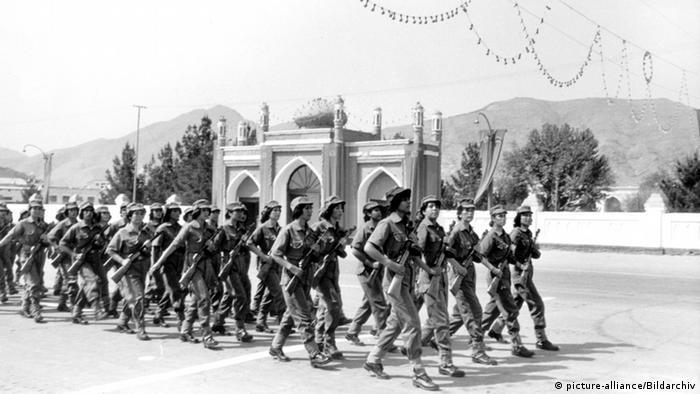 Afghanische Soldatinnen 1979