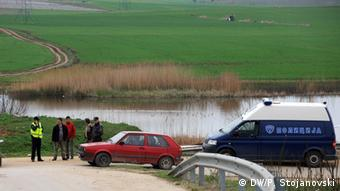 Blockierte Autobahn nach Tod von 5 Menschen in Mazedonien