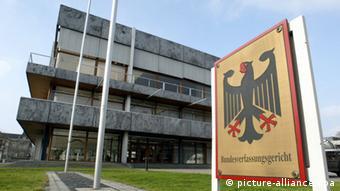 Gebäude des Bundesverfassungsgerichts BVG in Karlsruhe