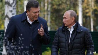 Russland Ukraine Putin Janukowitsch