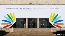 Amerika Gipfel 2012 eingang