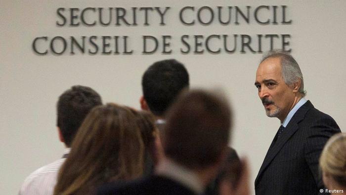 UN-Sicherheitsrat: Beratungen zu Syrien