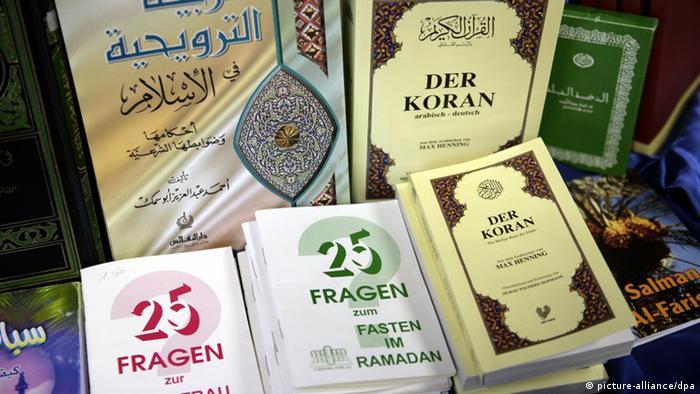 Various versions of the koran