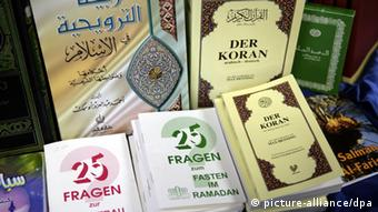 Copies of the Koran; The Read! campaign started back in Fall 2011