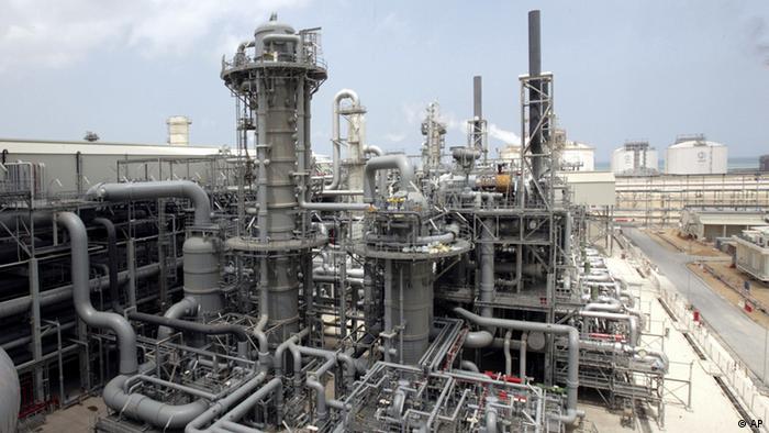 Завод по производству сжиженного газа в Катаре