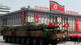 Nordkorea Militärparade 100. Geburtstag Kim Il Sung