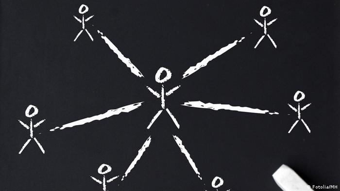 Illustration Netzwerk