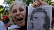 Argentinien Militärdiktatur Junta Diktatur Demonstration Protest