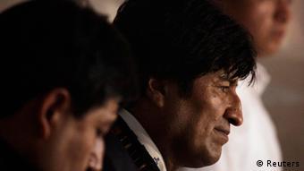 Kolumbien OAS Bolivien Präsident Evo Morales