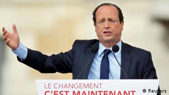 Frankreich Wahlkampf Francois Hollande