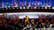 Kolumbien OAS Gruppenfoto der Präsidenten