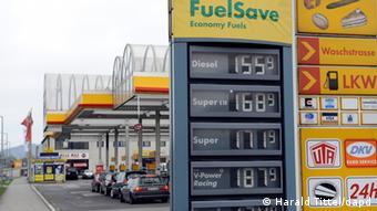 Eine Tankstelle (Foto: Harald Tittel/dapd)
