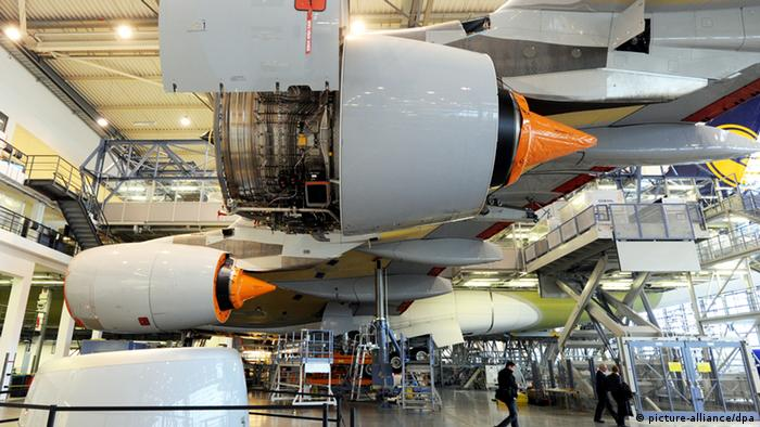 Airbus A380 in the making