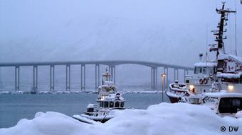 Tromsö in Norwegen wird oft Tor zur Arktis genannt Irene Quaile, Tromsö 2011