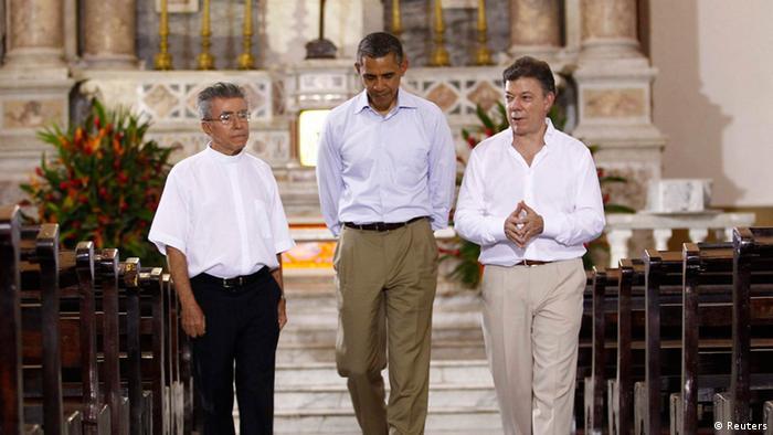 Amerika-Gipfel in Cartagena Kolumbien