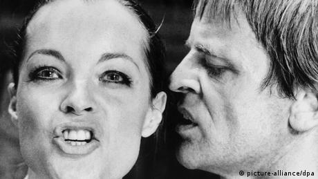 Romy Schneider und Klaus Kinsky in