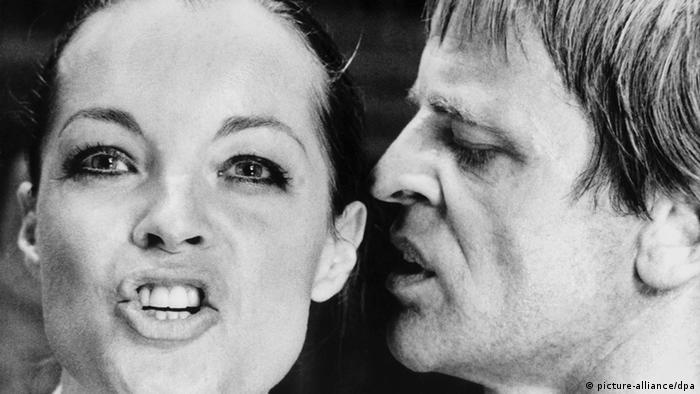 Romy Schneider und Klaus Kinski in Nachtblende. (picture-alliance/dpa)
