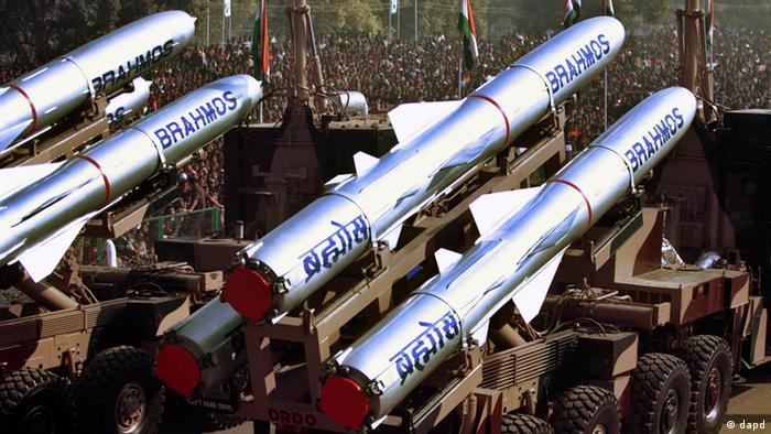 Raketentest Indien (dapd)