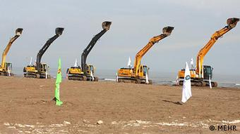 انتقال آب دریای خزر به فلات مرکزی ایران طرح استراتژیک احمدینژاد بود