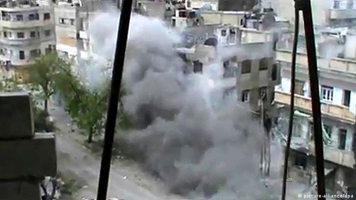 Syrien Bürgerkrieg Waffenruhe brüchig Homs