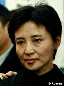 Gu Kailai Ehefrau des chinesischen Politikers Bo Xilai