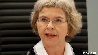 Wenche Elizabeth Arntzen Richterin Breivik-Prozess in Oslo Norwegen
