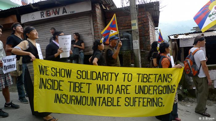 Tibetans have been demanding autonomy since several decades