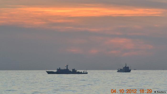 Zwei chinesische Aufklärungsschiffe im Südchinesischen Meer