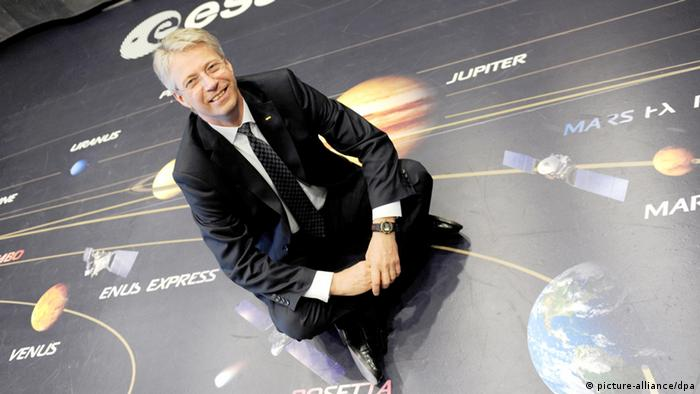 Thomas Reiter, director of the European Space Agency