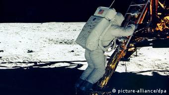 Erste Mondlandung 1969 (Foto: EPA/NASA / HO - EDITORIAL USE ONLY)