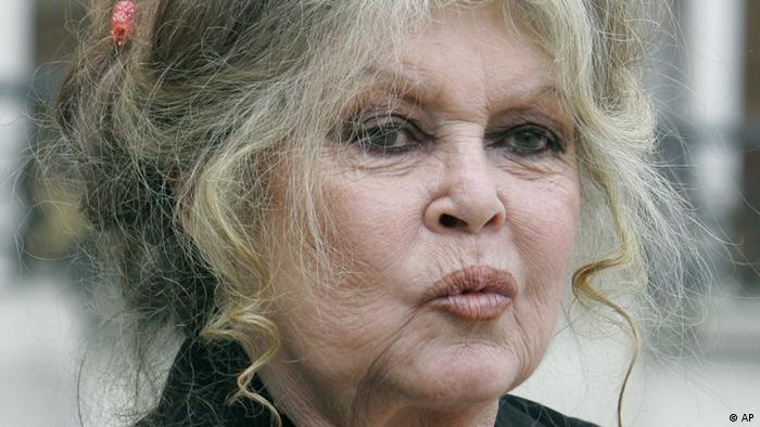 Former actress-turned-animals rights activist Brigitte Bardot in a photo from September 2007. (ddp images/AP Photo/Jacques Brinon)