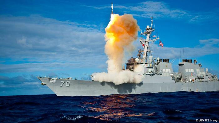 Raketenabwehr Test (AP/ US Navy)