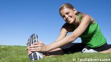 Frau Sport Fitness Stretching