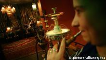 Shisha Wasserpfeife rauchen Restaurant Ali Baba Dresden