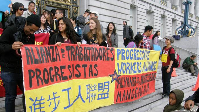 Proteste in San Franscisco copyright: Max Pringle
