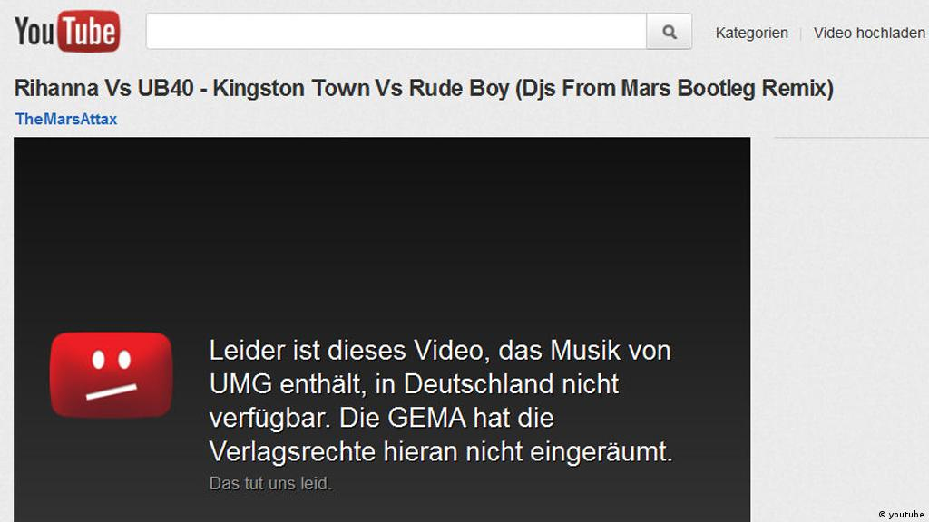 German court case fails to settle YouTube copyright controversy